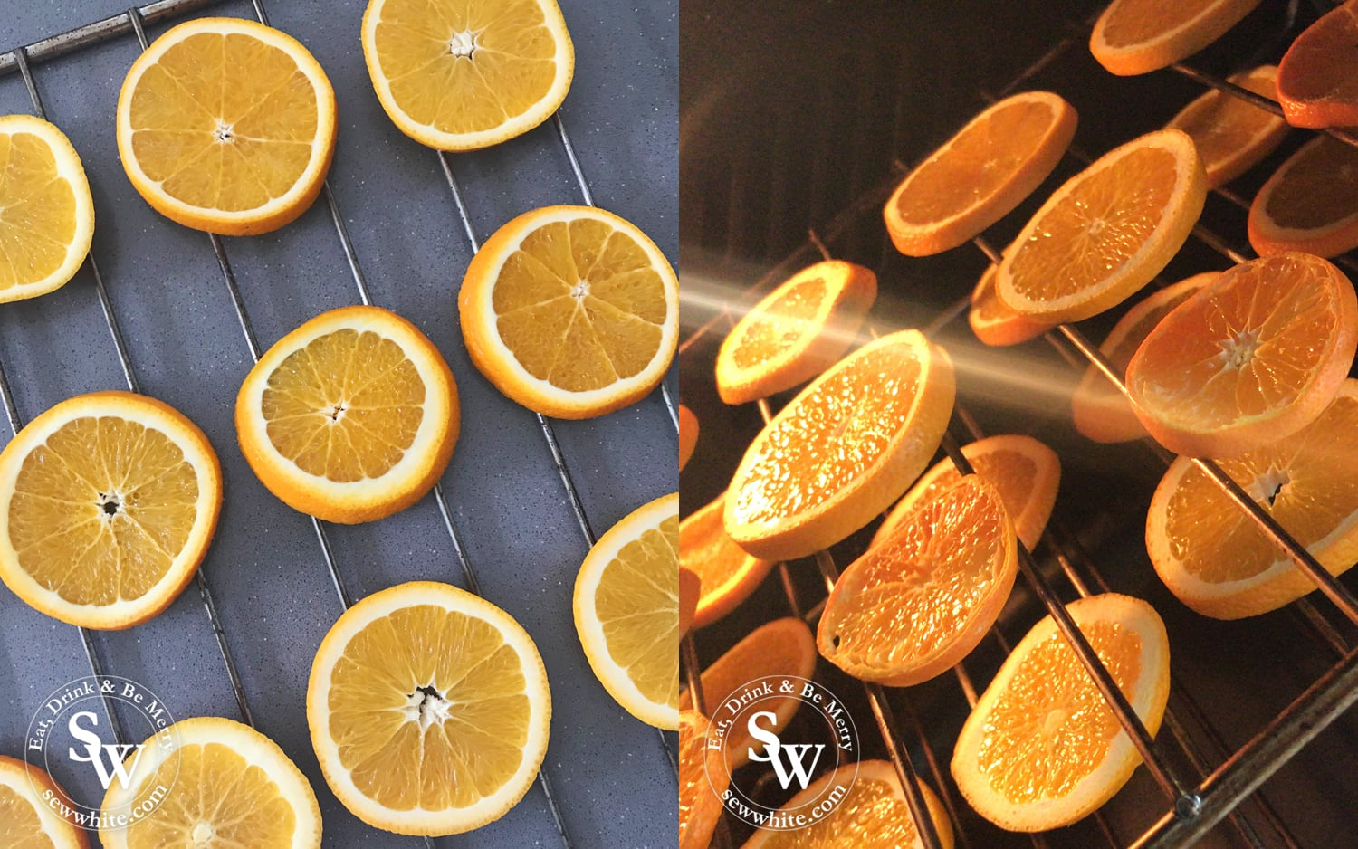 dried orange slices perfect for christmas