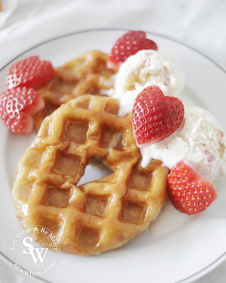 how to make really easy krispy kreme waffles