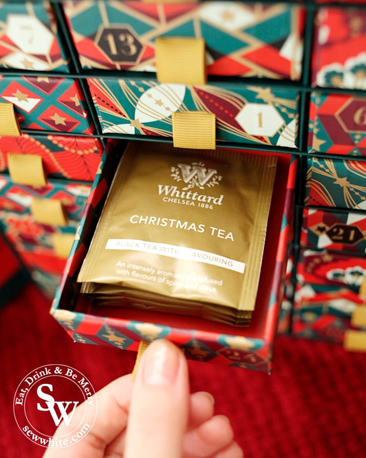 Whittard tea advent calendar