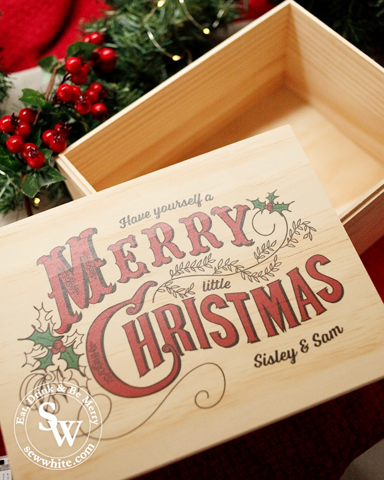 Santa Sacks Christmas Eve box review. Personalised Christmas box in the top 5 advent calendars for Christmas