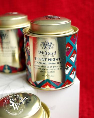 Whittard christmas tea silent night green tea