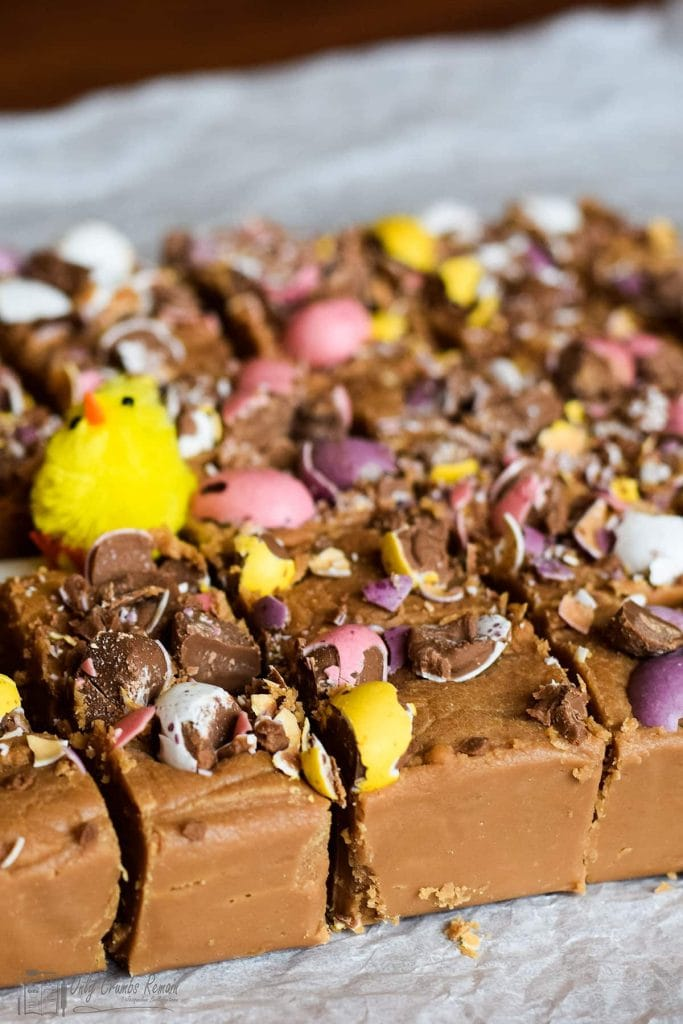 Easter fudge recipe from Only Crumbs Remain