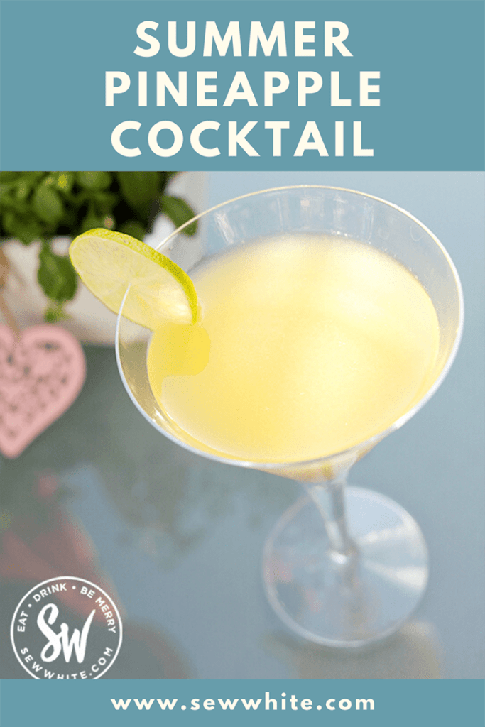 summer pineapple cocktail