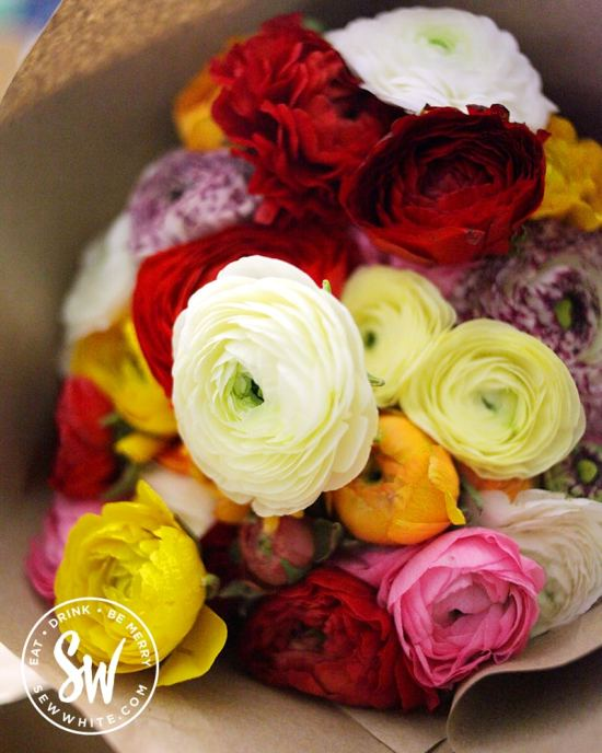 By bloom flowers being delivered in eco packaging in the be merry gift guide