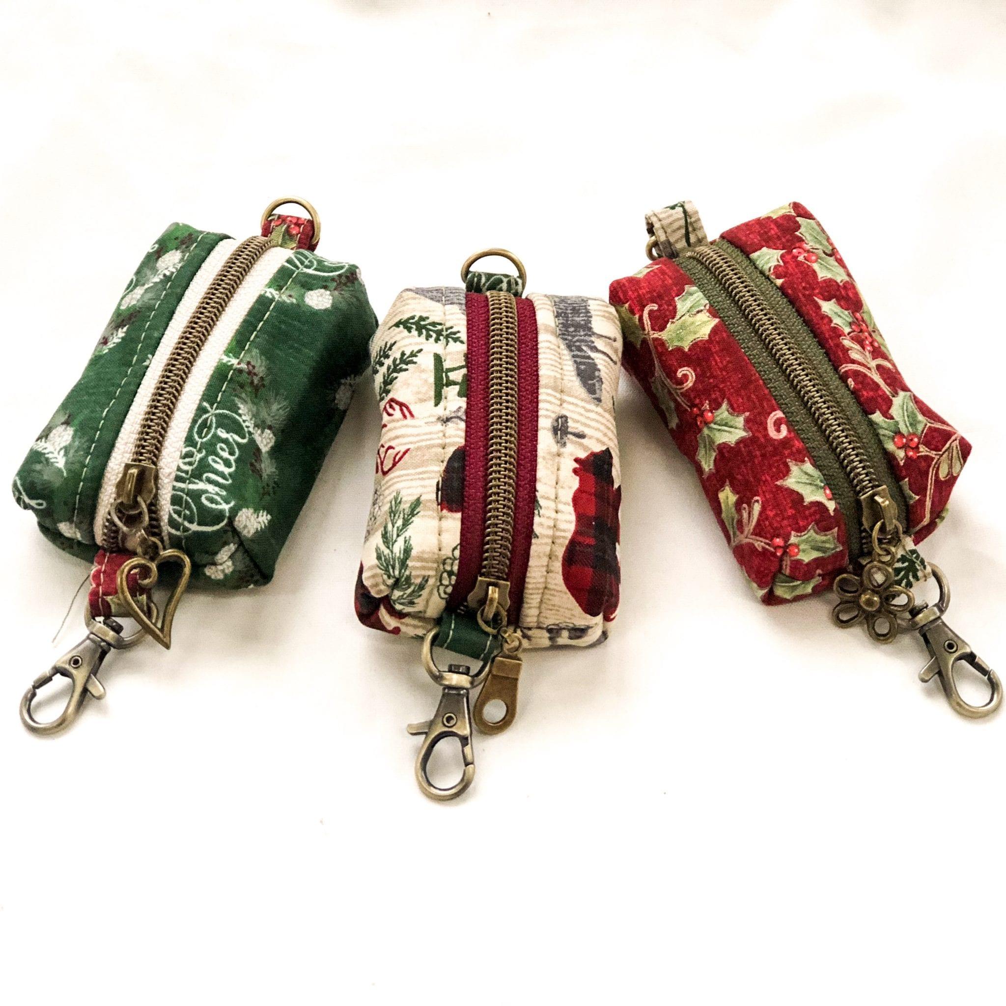 Cute Zipper Pouch - FREE Pattern