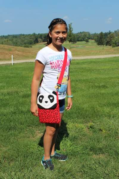 My Daughter With Her Panda Tablet Bag