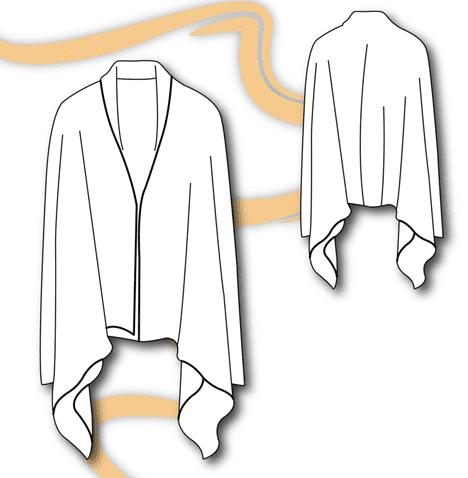 convertible cardigan