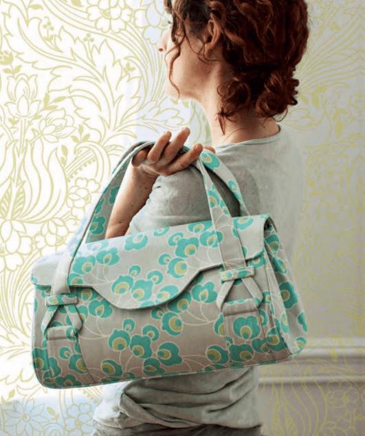 FREE Bag Pattern: Bloosom Handbag Shoulder Bag