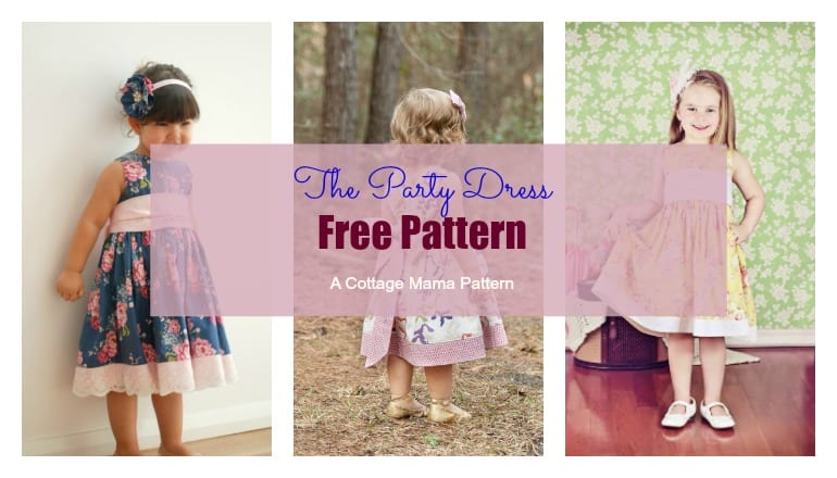 Little Girls Dress Pattern FREE