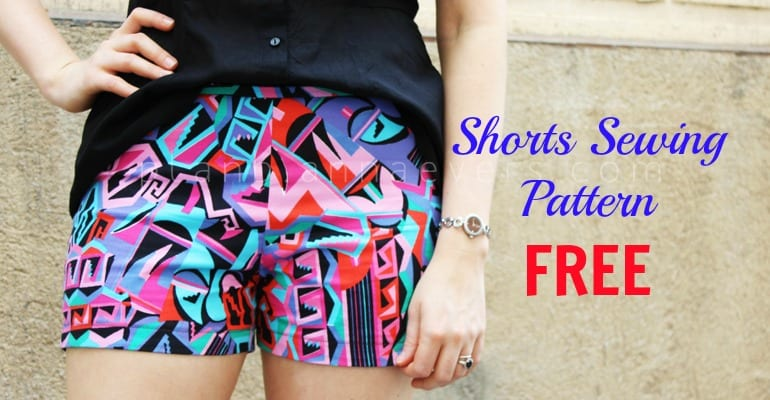 Shorts Sewing Pattern FREE