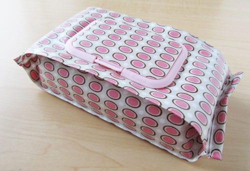 Funny rabbit baby wipe case
