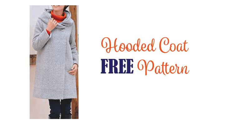 Hooded Coat Pattern FREE My Handmade Space Stunning Coat Pattern