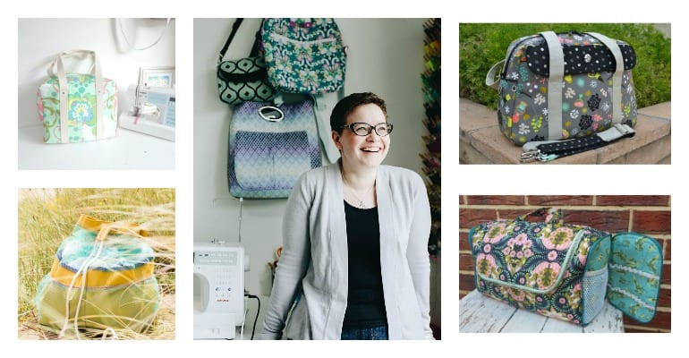 Meet Samantha aka Mrs H and her wonderful bag sewing patterns.