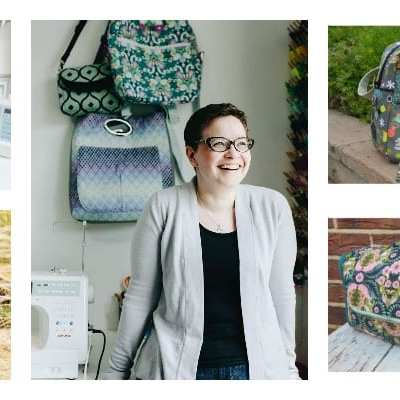 Meet Samantha aka Mrs H and her wonderful bag sewing patterns.