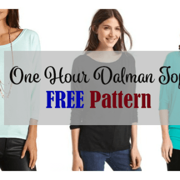 one hour top free pattern