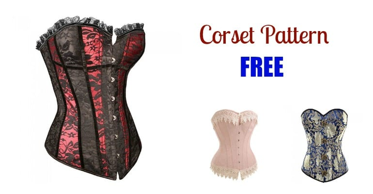 Free Corset Pattern - My Handmade Space