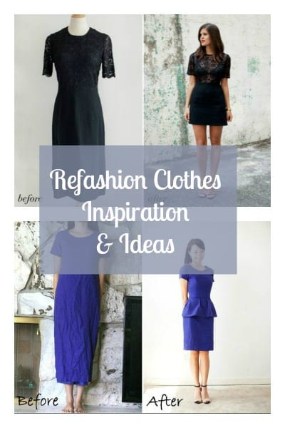 refashion clothes