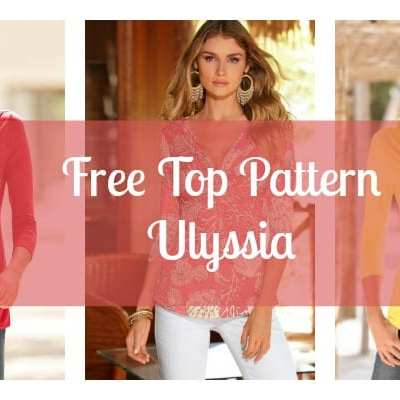 free top pattern ulyssia