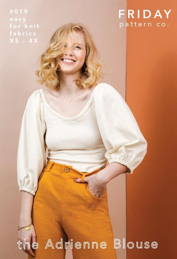 Adrienne Blouse - free pattern
