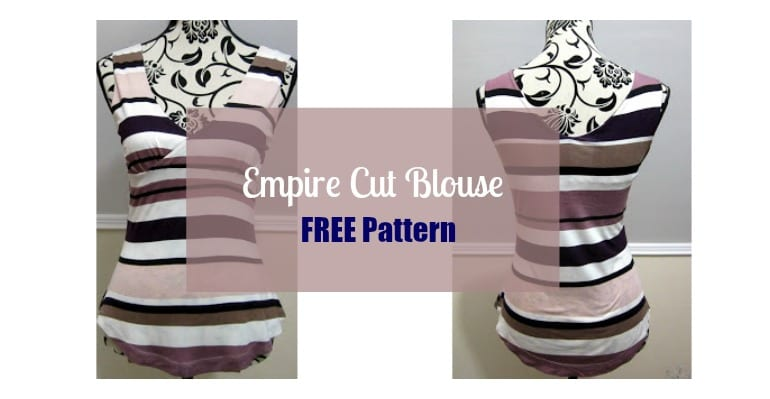 empire cut blouse free pattern