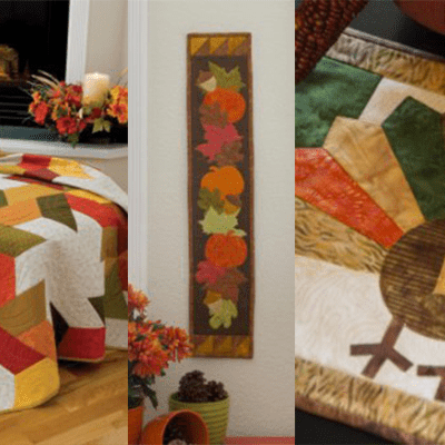 FREE Fall Quilting Patterns