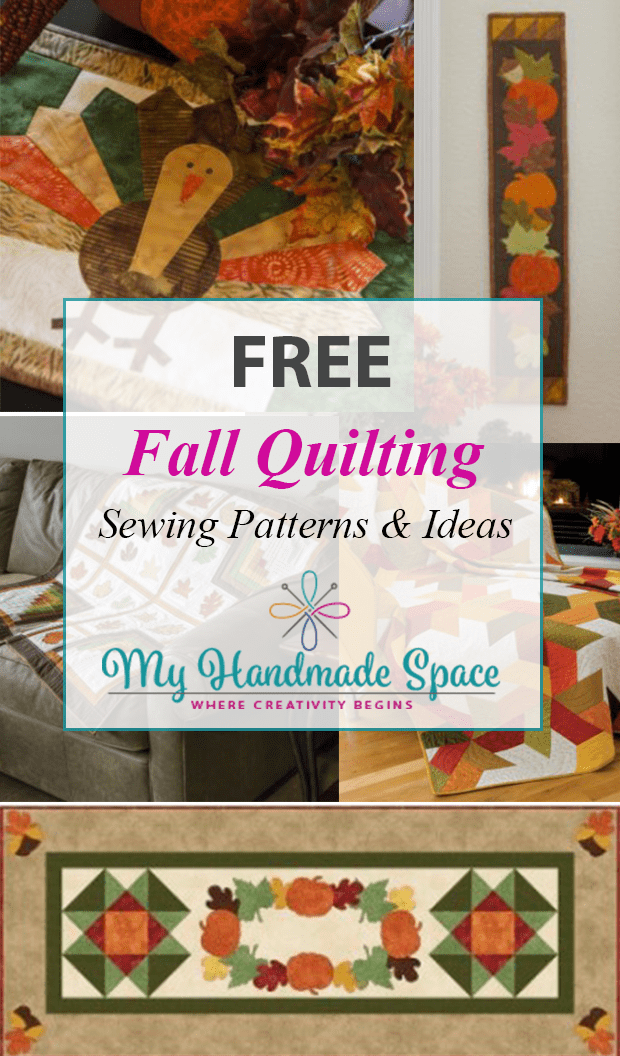 FREE Fall Quilting Patterns, Thanksgiving Quilting Patterns