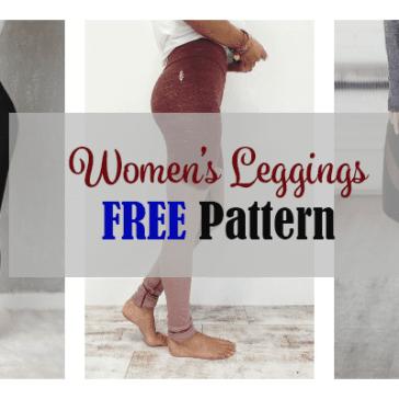 leggings free pattern