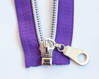 open zipper end