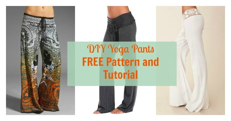 Yoga Pants for Mom FREE Pattern