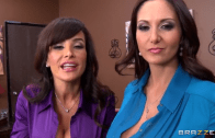 HOT MOMS IN OFFICE – LISA ANN AND AVA ADDAMS