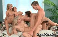 Naughty America – Darla Crane & Deauxman & Holly Halston & Julia Ann