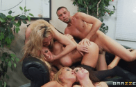 OFFICE 4 -PLAY: CHRISTMAS EDITION! – KRISSY LYNN, TANYA TATE, CHANEL PRESTON & NICOLE ANISTON – BRAZZERS
