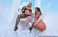 Brazzers – The Backdoor to Limbo – Kelly Divine, Lea Lexis