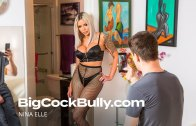 Big Cock Bully – Nina Elle Gets Fucked by her Son's Bully