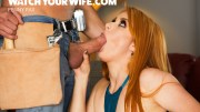 Watch Your Wife – Your Wife Penny Pax Fucks the Construction Worker and You See All