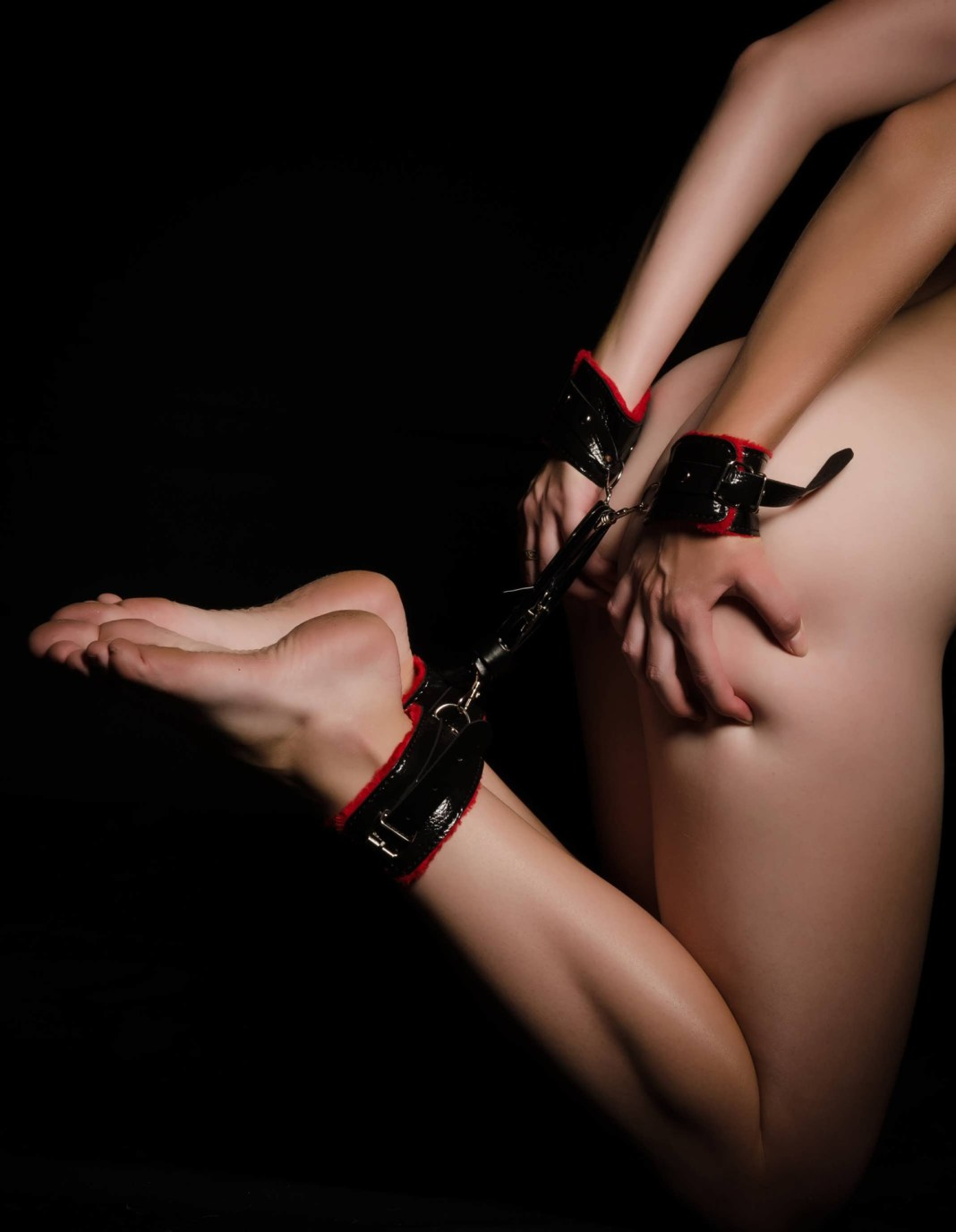 woman in bondage which is on a list of kinks