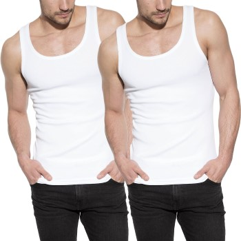 Bread and Boxers Men Tanks 2-pack