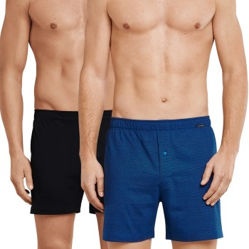 Schiesser 2-pack Essentials Cotton Boxer Shorts