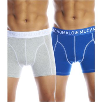 Muchachomalo 2-pack Solid Boxer UPP2