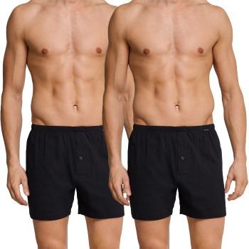 Schiesser 2-pack Essentials Jersey Boxer Shorts