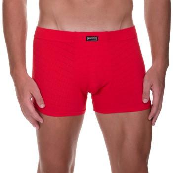 Bruno Banani Kalsonger Check Line 2.0 Shorts Röd polyamid Medium Herr