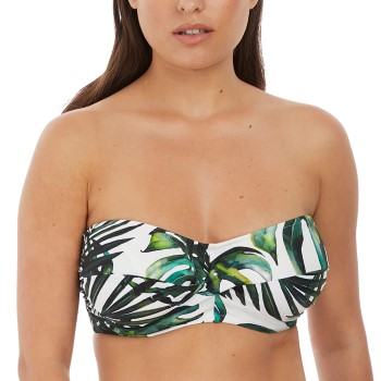 Fantasie Palm Valley Twist Bandeau Vit Mönstrad H 80 Dam
