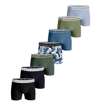 Björn Borg Kalsonger 7P Essential Shorts 2117 Flerfärgad bomull X-Large Herr