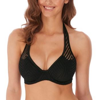 Freya Urban Underwire Halterneck Bikini Top Svart I 70 Dam