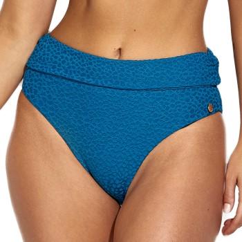 Panos Emporio Diva Chara Folded Bikini Brief Blå polyester 36 Dam