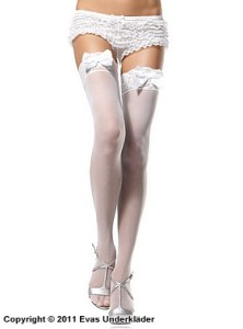 Stockings med rosett