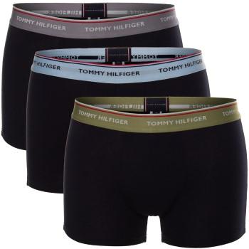 Tommy Hilfiger Kalsonger 3P Premium Essentials Trunk Plus Size Blå/Grå bomull XXXXL Herr