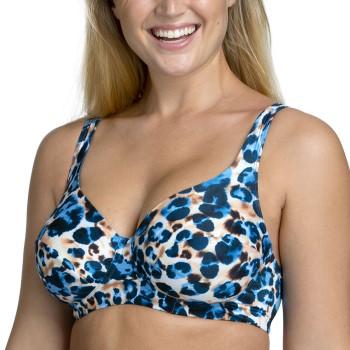 Miss Mary Jungle Summers Underwire Bikini Bra Blå Mönstrad E 85 Dam
