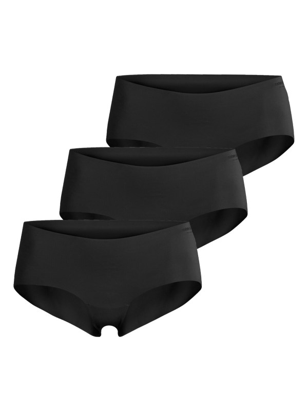 SOLID HIPSTER 3-PACK Black Beauty,44
