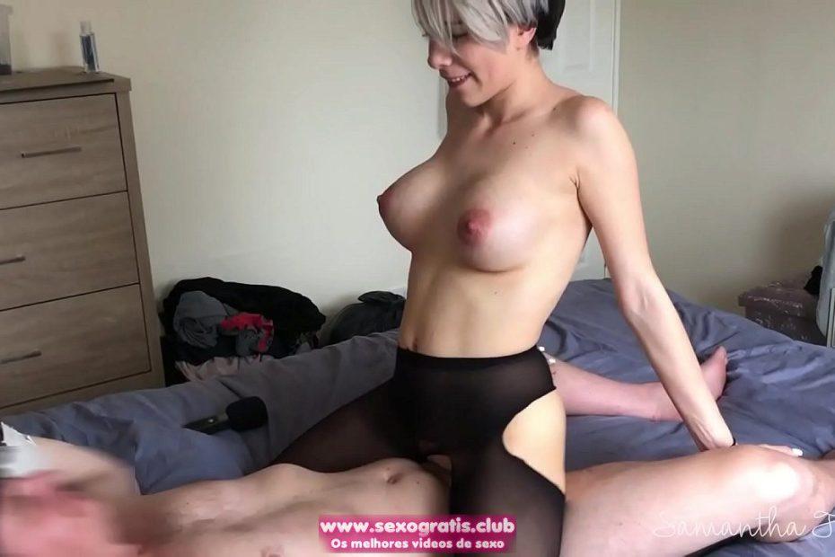 Sexo selvagem com Samantha Flair
